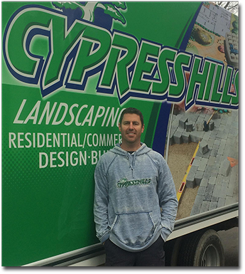 Mike Cromack of Cypress Hills Landscaping